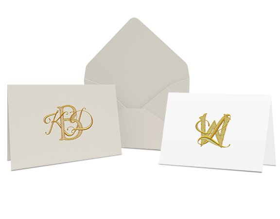 buy online monogram on carda