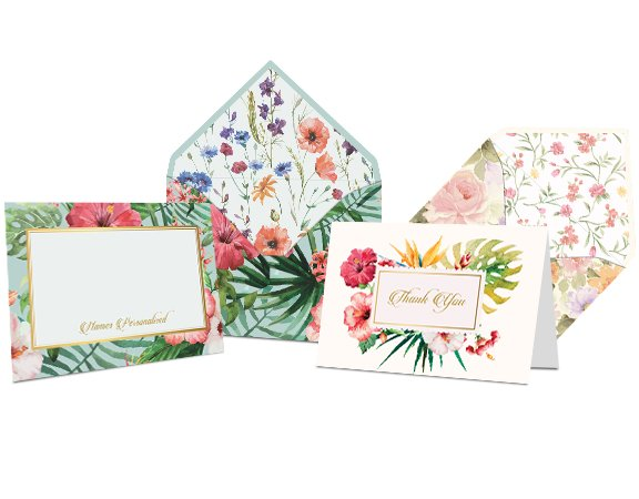 buy online personalised stationery on carda